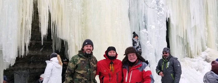 Eben Ice Caves is one of CBS Sunday Morning 2.