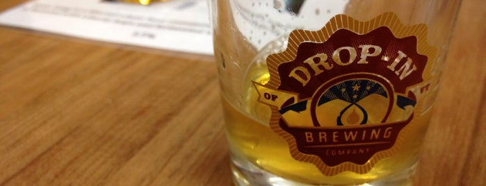 Drop-In Brewing Company is one of New England Breweries.