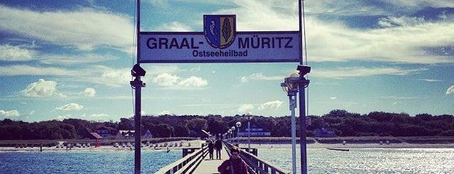 Seebrücke Graal-Müritz is one of Oostzeekust 🇩🇪.