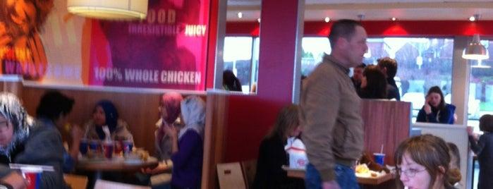 KFC is one of Tempat yang Disukai Carl.