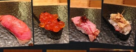 Sushi Sase 鮨佐瀬 is one of สถานที่ที่บันทึกไว้ของ Edward.