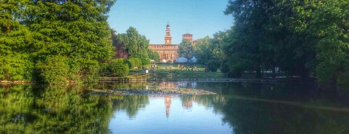 Parco Sempione is one of 101Cose da fare a Milano almeno 1 volta nella vita.