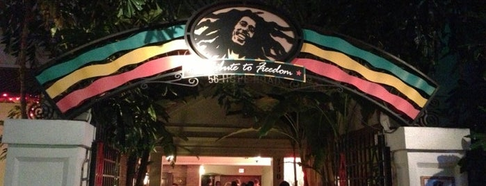 Bob Marley: A Tribute To Freedom is one of RESTAURANTS II.