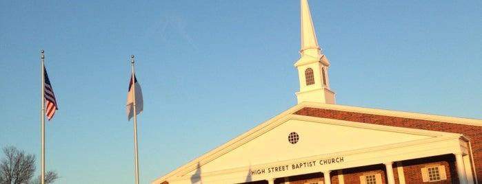 High Street Baptist Church is one of HSb.