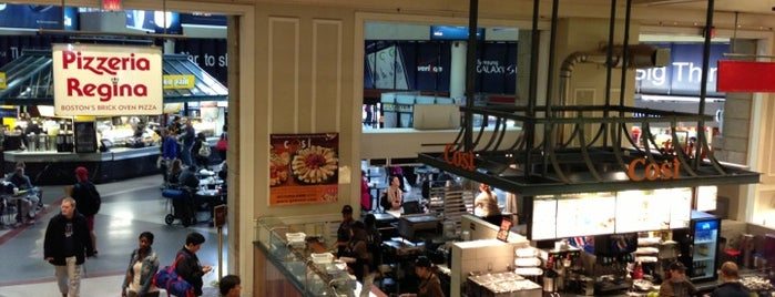 South Station Food Court is one of Massachusetts.