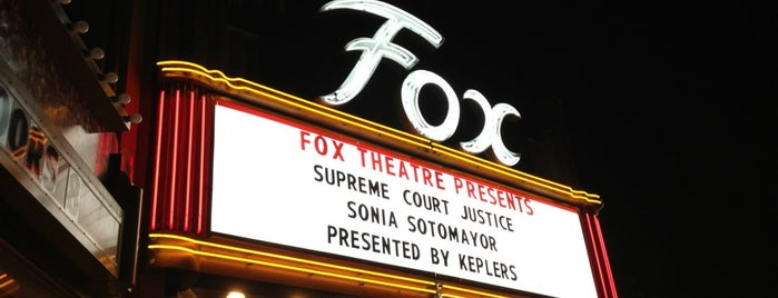 Fox Theatre is one of concert venues 1 live music.
