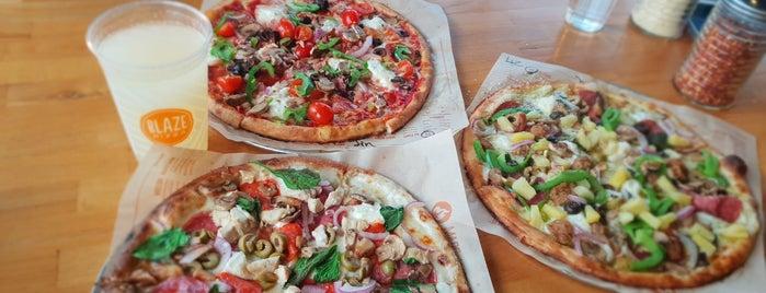 Blaze Pizza is one of VegBites.