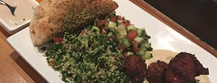 Taïm Falafel and Smoothie Bar is one of The New Yorkers: Herbivore.