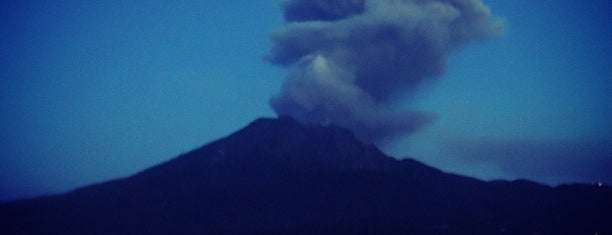 Sakurajima is one of 西郷どんゆかりのスポット.