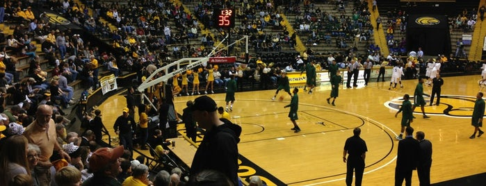 USM Reed Green Coliseum is one of NCAA Division I Basketball Arenas/Venues.