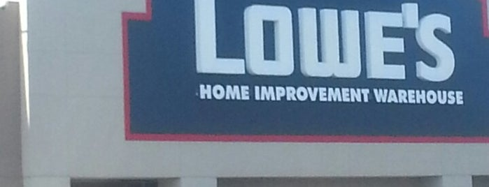 Lowe's is one of Stores.