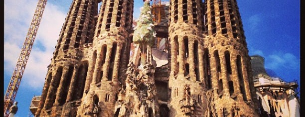 Sagrada Família is one of Barcelona.