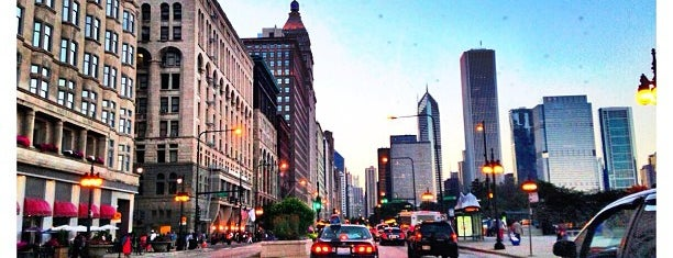 Michigan Avenue is one of Chicago.