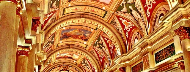 Venetian Resort & Casino is one of Trudy's list.