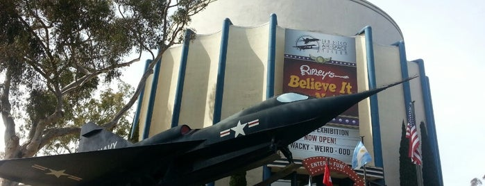 San Diego Air & Space Museum is one of 75 Geeky Places to Take Your Kids.