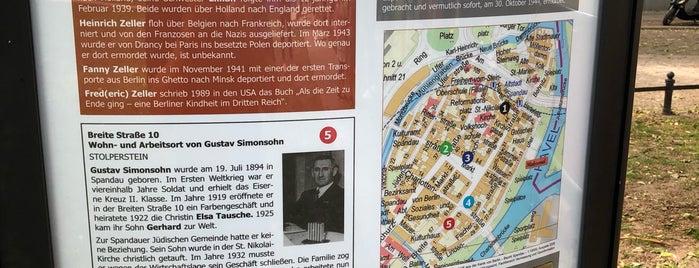 Mahnmal Lindenufer is one of Berlin.
