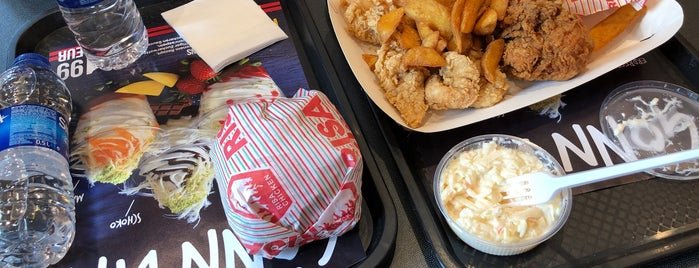 RISA Chicken is one of สถานที่ที่ Stefan ถูกใจ.
