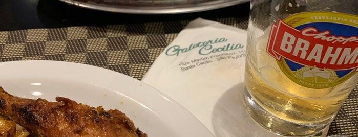 Galeteria Cecília is one of quero ir.