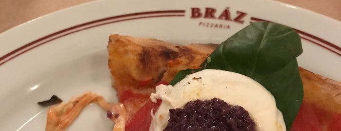 Bráz Pizzaria is one of Comer E Beber Em Sampa.
