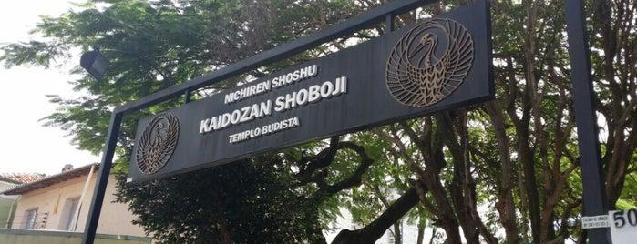 Templo Budista Kaidozan Shoboji is one of Discover São Paulo.