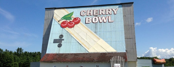 Cherry Bowl Drive-In Theater is one of TAKE ME TO THE DRIVE-IN, BABY.