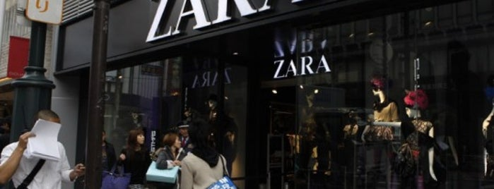 Zara is one of Aliさんのお気に入りスポット.