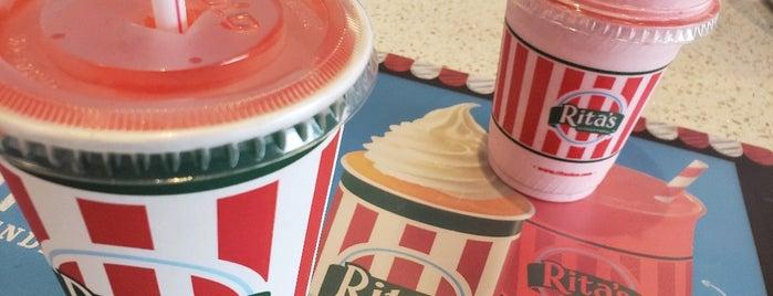 Rita's Italian Ice & Frozen Custard is one of Take zucchini.