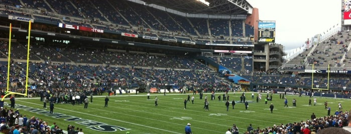 CenturyLink Field is one of Come Back Later.