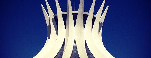 Catedral Metropolitana de Brasília is one of Brasilia, Brazil.