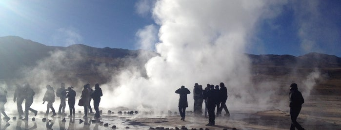 Tatio Geyser is one of Tempat yang Disukai Alan.