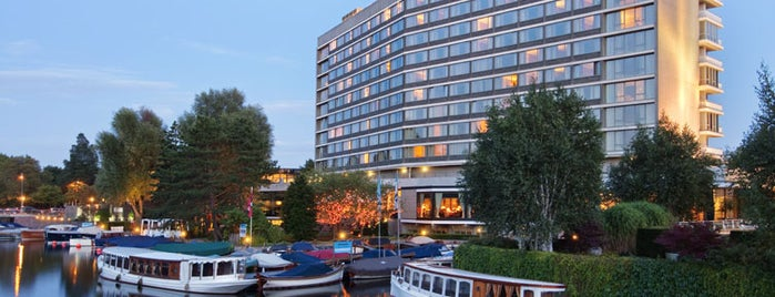 Hilton Amsterdam is one of AMS.