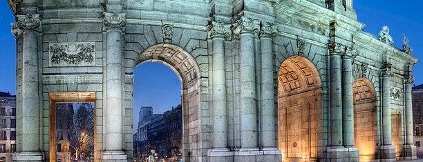Puerta de Alcalá is one of Best of Madrid.