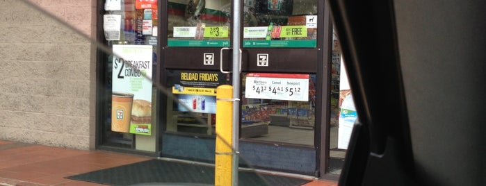 7-Eleven is one of Lieux qui ont plu à Brian.