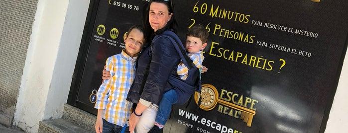 Escape Real: El Misterio de Andrew Wolf is one of สถานที่ที่บันทึกไว้ของ Giovanna.