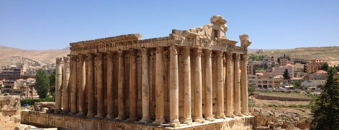 Baalbek is one of Middle East.