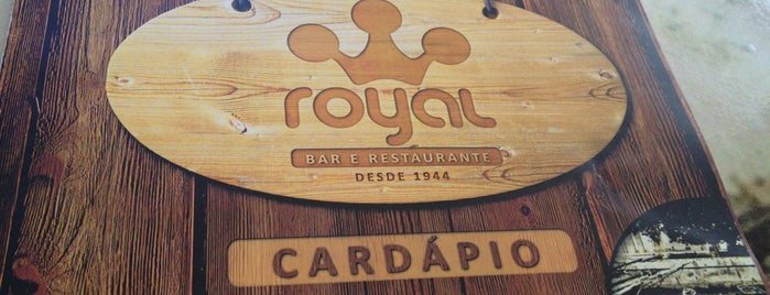 Royal Bar e Restaurante is one of Tempat yang Disukai Andre.