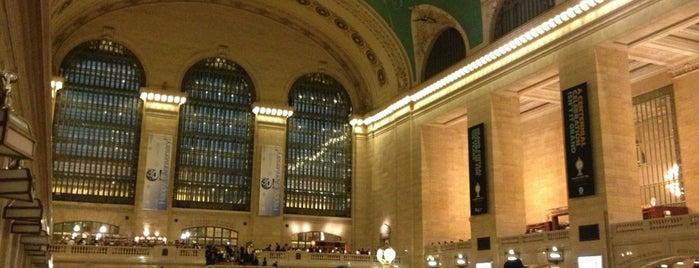 Grand Central Terminal is one of Die schönsten Bahnhöfe der Welt.