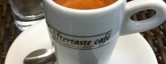 Aftertaste Café is one of Lugares favoritos de Julio.