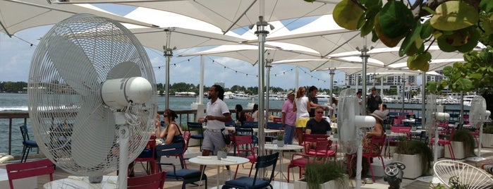 The Lido Bayside Grill is one of Miami Florida - Peter's Fav's.