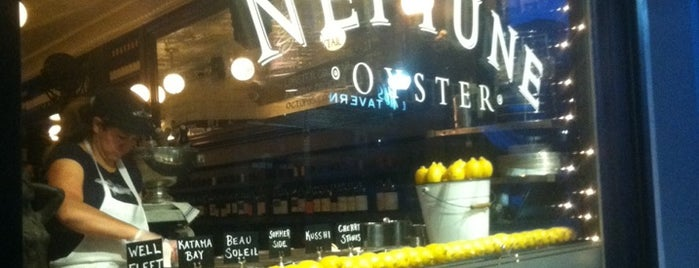 Neptune Oyster is one of Zagat 2013 Best Restaurants.