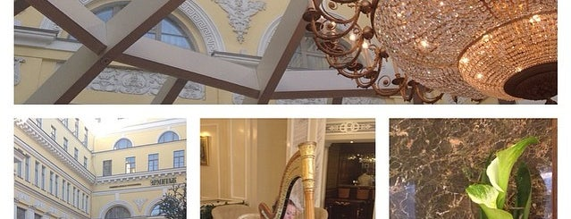 The Official State Hermitage Hotel is one of sleep, drink and eat in St. Petersburg.