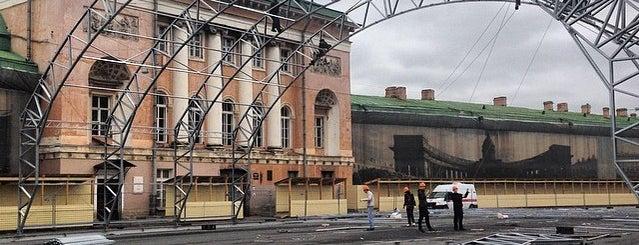 Конюшенная площадь is one of Интересные места. Санкт-Петербург..