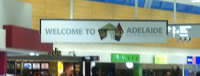 Adelaide Airport (ADL) International Departures is one of Adelaide.