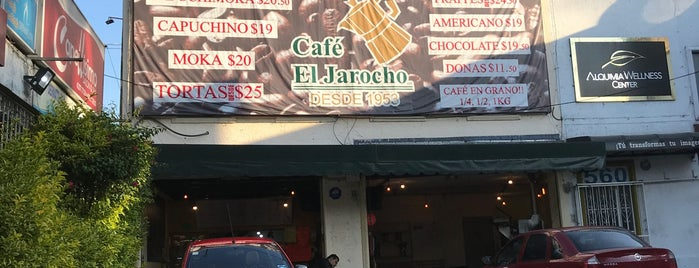 Café El Jarocho is one of Lieux qui ont plu à Rodrigo.