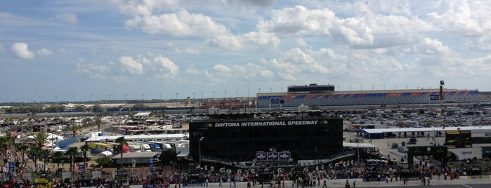 Daytona International Speedway Petty Tower is one of Tempat yang Disimpan JRA.