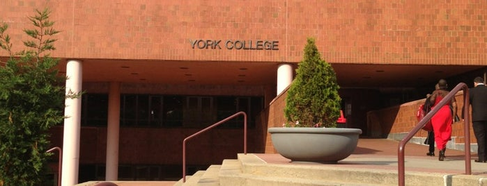 York College CUNY is one of The Making of Songs In A Minor.