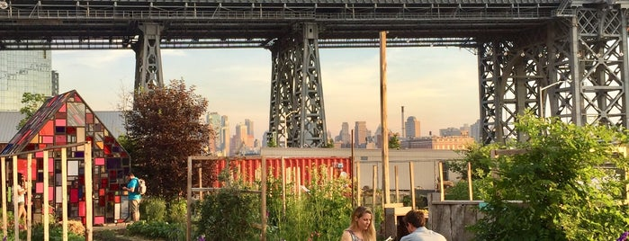 Domino Park is one of The New Yorkers: Williamsburg/Greenpoint.