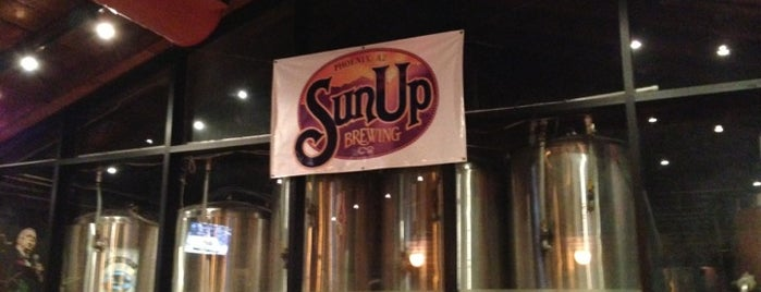 SunUp Brewing Co. is one of Phoenix-area craft breweries.