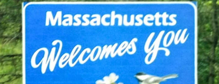 Massachusetts Welcome Sign is one of Faithy'in Beğendiği Mekanlar.
