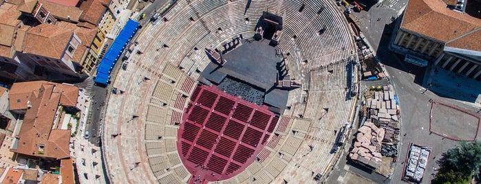 Arena di Verona is one of Ilya : понравившиеся места.